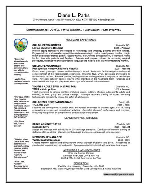 top 10 resume builders top internship resume sles resume sles