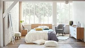 Idees Deco Chambre : d co chambre adulte 12 id es pour plus de lumi re c t maison ~ Melissatoandfro.com Idées de Décoration