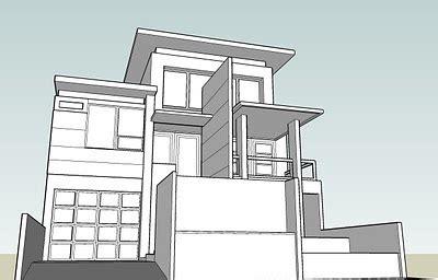desain rumah minimalis elite