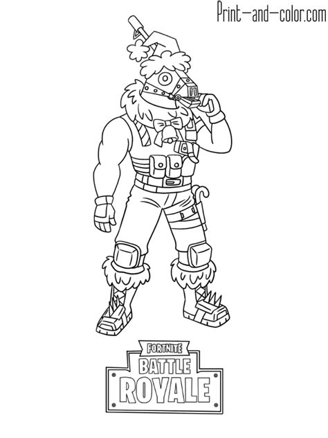 immagini skin di fortnite da colorare fortnite battle royale coloring page sgtwinter skin