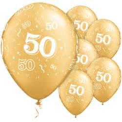 ballon helium mariage gold 50th balloons biodegradeable