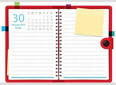 Daily Planner Vector Notebook Download Free Vector Art