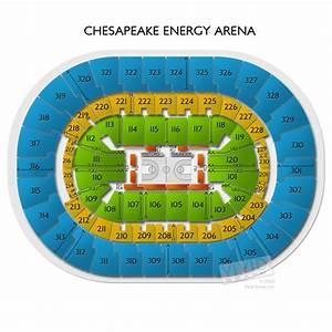 Chesapeake Energy Arena Oklahoma City Ok Seating Chart Chesapeake Energy Arena Tickets Chesapeake Energy Arena