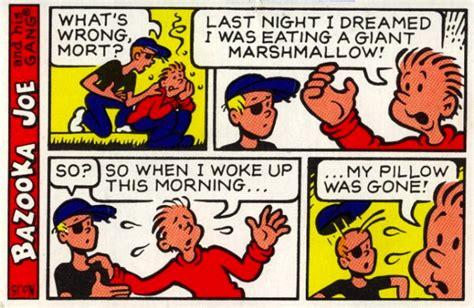 bazooka joe cartoon retirement arnold zwicky s blog
