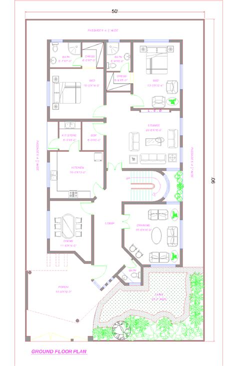 Home Design Plans In Pakistan by Pin By Aish Ch On Pakistan House Plans House Layout