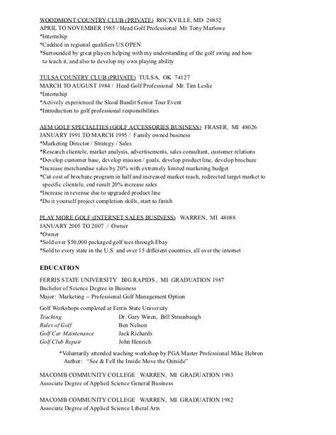 Junior Golf Resumes by Mandrella Resume