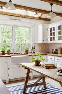 35 cozy and chic farmhouse kitchen decor ideas digsdigs With the best inspiration for cozy rustic kitchen decor