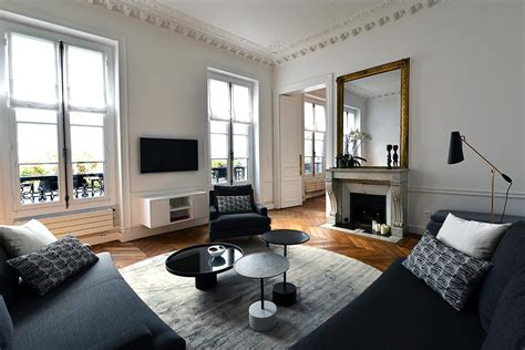 Idee Deco Interieur Appartement D 233 Coration D Int 233 Rieur Appartement Haussmannien 110m2