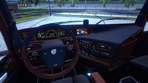 truck simulator 2 volvo fh16 2012 interior colored dashboard v2 0