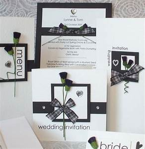 Scottish wedding ideas saw these and thought they were for Handmade wedding invitations scotland