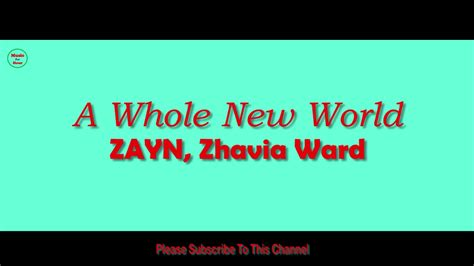 world  hour zayn zhavia ward youtube