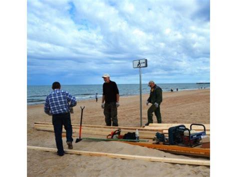 Palangos paplūdimyje - neįgaliesiems pritaikyta infrastruktūra   Palangos Tiltas
