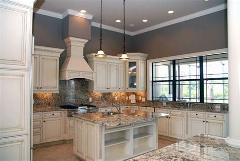 what color countertops with white cabinets off white kitchen cabinets with antique finish home