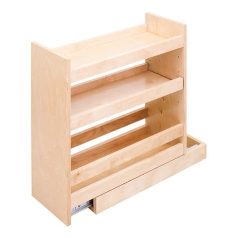 Base Cabinet Pull Out Spice Rack by Pull Out Spice Rack Organizer Fits 12 Quot Base Cabinet
