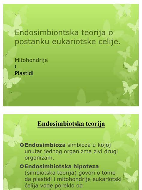 Endosimbiontska teorija