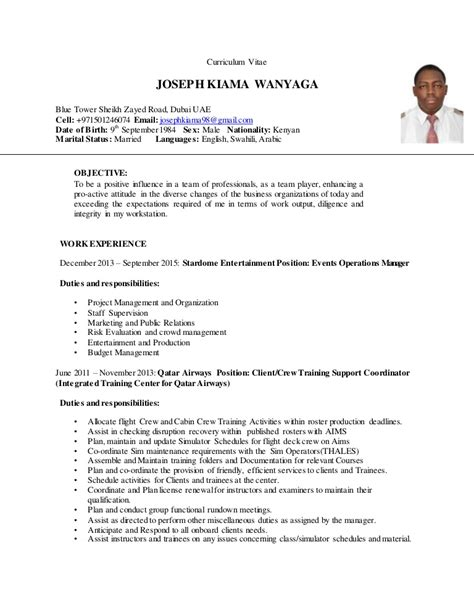 Air Canada Cover Letter by Resume Dubai 2016