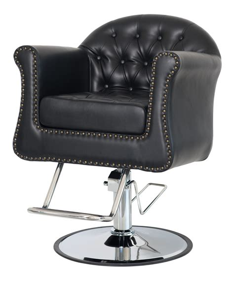 styling chair cushioned salon styling chair