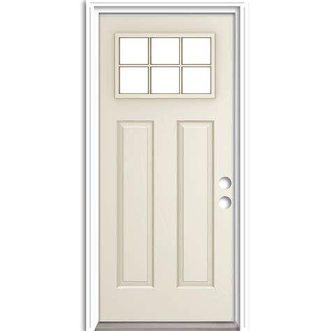 steel door lowes shop reliabilt right inswing primed steel entry door