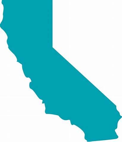 California Clip State Outline Transparent Clipart Shape