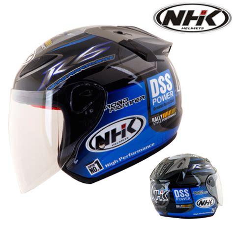 Half Helm Nhk R6 R 6 White helm nhk r6 rally pabrikhelm jual helm murah