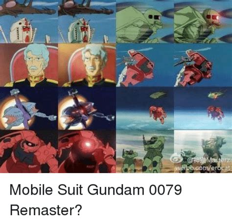 gundam mobile suit 56 as ner ae 鲁 0 mobile suit gundam 0079 remaster mobile