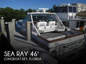 1987 Sea Ray 460 Express Cruiser Powerboat For Sale In Florida