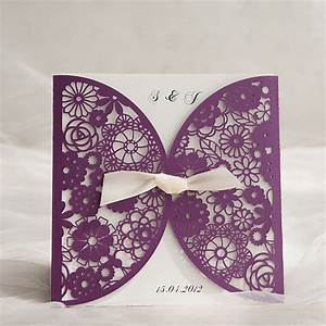 Eight Most Popular Plum Purple Invitations By Elegant ...