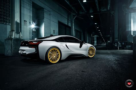 A BMW i8 Head Turner With Vossen Forged LC-105T Wheels
