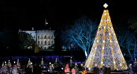 event history timeline national christmas tree lighting