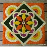 Rangoli Designs With Flowers And Colours | 585 x 573 jpeg 61kB