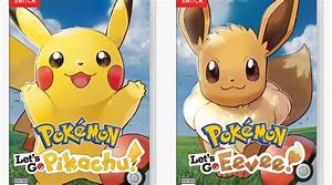 Pokemon Let's Go Pikachu e Eevee anunciados para Switch ...