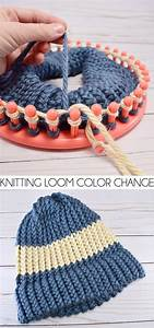 How To Change Colors On A Knitting Loom