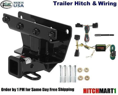curt trailer hitch wiring for 2006 2010 jeep commander except rocky mountain ebay