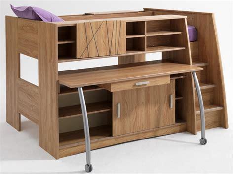 lit mezzanine 1 place avec bureau conforama tendance le lit mezzanine décoration