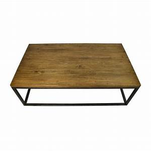 51 off west elm west elm box frame coffee table tables for West elm coffee table sale