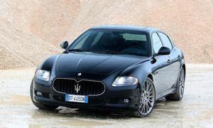 Xf Sv8 Vs Maserati Quattroporte by Maserati Quattroporte Autozeitung De