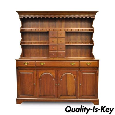 The China Cupboard by Vintage Pennsylvania Pa House Cherry 2 Open Hutch