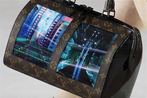 louis vuitton unveils flexible screens  prototype handbags digital news asiaone