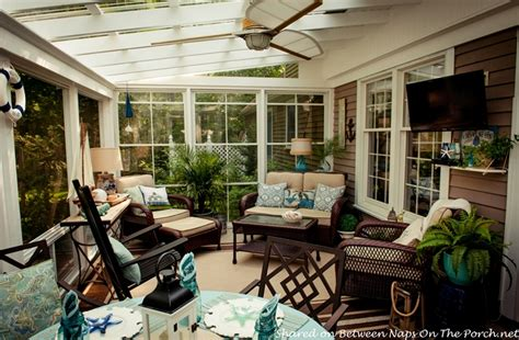 An Ordinary Patio Becomes A Beautiful Threeseason Porch. What Is A Sauna Room. Best Multi Room Audio System. Decorative Post And Beam Hardware. Plaster Decorations For Walls. Decorative Hanging Solar Lights. Ottoman For Living Room. Small Apartment Dining Room Ideas. Florida Room Designs