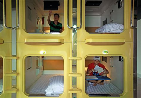 China's Capsule Hotel A Room With No View