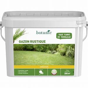 Gazon Rustique 25 Kg : gazon rustique label co durable 5 kg semences de gazon ~ Dailycaller-alerts.com Idées de Décoration