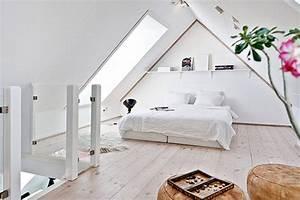 Jugendzimmer Dachschräge Einrichten : modernes schlafzimmer dachschr ge mit dachfenster als schlafzimmer ideen freshouse ~ Frokenaadalensverden.com Haus und Dekorationen