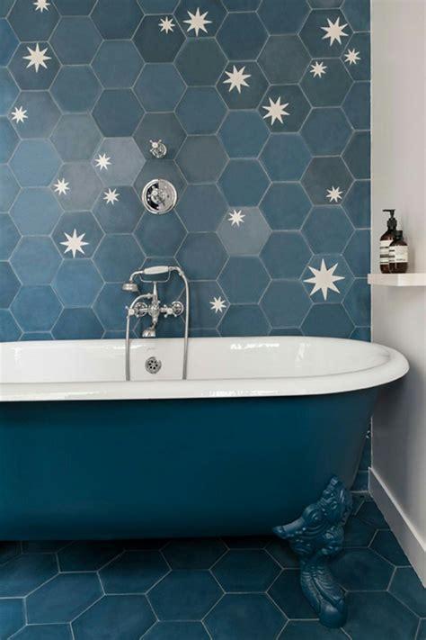 popham design hex star tiles bathrooms remodel