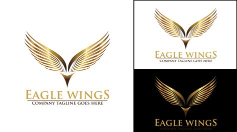 Wing Logo Template Airlines Company