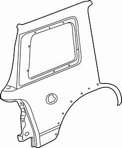 Ford Explorer Quarter Panel  Xlt  Eddie Bauer  Limited  W
