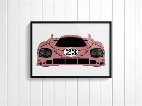 porsche 917 art porsche 917 silkscreen posters