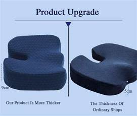 best office chair cushion for sciatica lower back coccyx