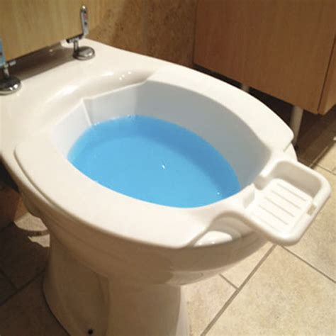 new portable travel toilet bidet white seat soap tray discreet fast post ebay