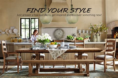 Pottery Barn Kitchen Furniture Style Finder Quiz Pottery Barn
