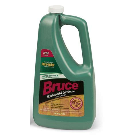 bruce laminate cleaner bruce 64 fl oz hardwood and laminate floor cleaner refill ws109rt the home depot